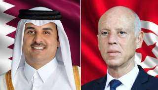 عاجل.. تصريحات خطيرة لـ أمير قطر بشأن تطورات الأحداث فى تونس