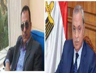 محافظ القليوبية يقدم التهنئة للواء محسن شعبان لتعيينه مديرًا للأمن