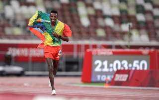 باريجا يحصد أول ذهبية لإثيوبيا فى أولمبياد طوكيو