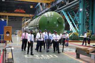 تفاصيل زيارة قيادات «المحطات النووية لمحطة «روستوفسكايا» الروسية