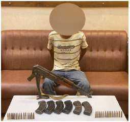 القبض على شخص بالقاهرة لحيازته أسلحة نارية وذخائر بدون ترخيص
