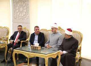 لقاء هام.. ماذا طلب وفد الوقف السني العراقي من البحوث الإسلامية؟