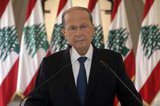 يؤشر إلى وجود نوايا عدوانية..عون يعلق على العدوان الإسرائيلي على لبنان