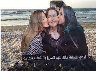 طائرة ورق تحمل صورة دلال عبد العزيز فى شوارع مصر دعمًا لها.. اعرف الحكاية