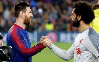 """عاجل.. برشلونة يعلن التعاقد مع محمد صلاح بعد """"رحيل ميسي"""""""