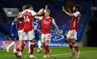 نهاية الشوط الأول بتعادل مانشستر يونايتد مع وست هام 1-1