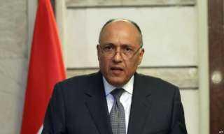 شكرى يبحث مع نائبى رئيس الرئاسى الليبى تطورات الأزمة الليبية