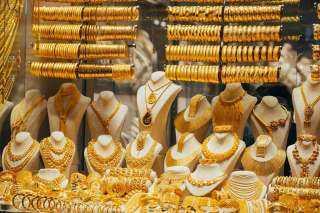 هبوط فى أسعار الذهب بسوق «الصاغة»