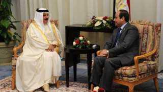 قمة مرتقبة بين السيسى و ملك البحرين اليوم بمدينة شرم الشيخ