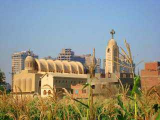 «مطرانية الجيزة» ترد على غرق كنيسة جزيرة الدهب بمياه النيل