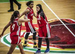 منتخب مصر لسيدات السلة يفوز على غينيا 102-58