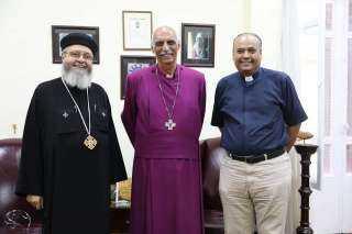 شاهد.. كواليس اجتماع «الأمانة» لمجلس كنائس مصر  بالكنيسة الأسقفية