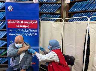 اللاجئون وطالبو اللجوء يحصلون على لقاح كوفيد- 19 في مصر