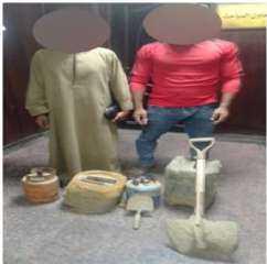 مديرية أمن القاهرة تواصل مكافحة جرائم التنقيب عن الآثار