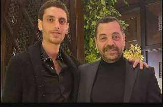 عودة نجل طارق العريان من لبنان بعد مشاجرته مع شيرين أبو العز