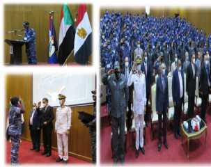 المعهد القومى لتدريب القوات الخاصة ينظم دورات تدريبية لعناصر الشرطة السودانية