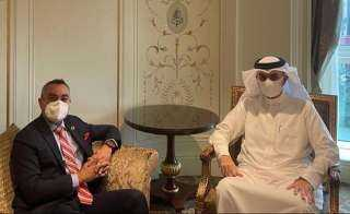 سفير البحرين يلتقي مدير المكتب الإقليمي العربي للاتحاد الدولي للاتصالات