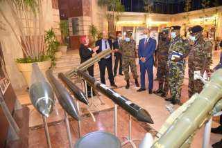 وفد عسكرى كينى يزور العربية للتصنيع لبحث تعزيز التعاون المشترك
