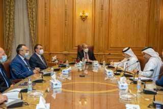 وزير الدولة للإنتاج الحربى يلتقى مجلس الإمارات للشركات الدفاعية