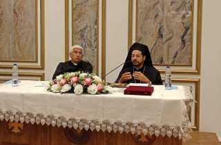 شاهد.. الأنبا باخوم يتابع استعداد المدارس الكاثوليكية للعام الدراسي الجديد