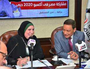 نيفين جامع: دعم غير مسبوق من القيادة السياسية لإنجاح المشاركة المصرية بالاكسبو