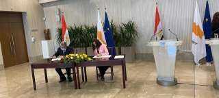 كواليس توقيع مذكرة تفاهم للربط الكهربائي الثنائي بين مصر وقبرص