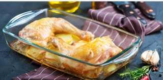 «زي المطاعم».. كيفية تحضير صينية بطاطس بالفراخ بدون طماطم