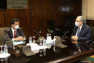 كواليس لقاء وزير الكهرباء مع رئيس شركة ليكيلا باور لبحث سبل التعاون