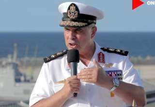 رسائل نارية من قائد القوات البحرية: قادرون على مواجهة كافة التحديات فى المنطقة