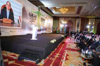 اللواء خالد عبد العال يشهد الجلسة الافتتاحية لفعاليات أسبوع القاهرة الرابع للمياه
