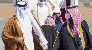 رسالة عاجلة من أمير قطر لـ ولي العهد السعودي