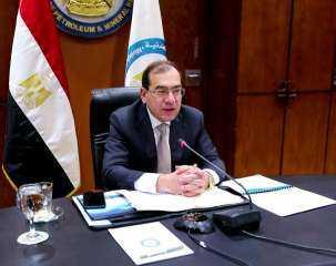 وزير البترول يستقبل نظيره اللبنانى لمتابعة إجراءات وصول الغاز المصري
