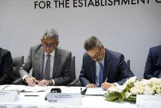 بالصور .. توقيع عقد إنشاء فرع جامعة نوفا البرتغالية بجامعات المعرفة الدولية بالعاصمة الإدارية