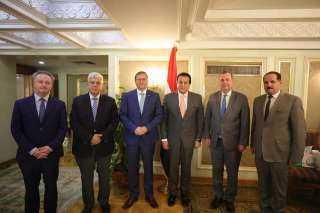 تعرف على تفاصيل لقاء وزير التعليم العالي وسفير التشيك بالقاهرة