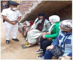 الأجهزة الأمنية بالقاهرة تساعد إحدى المواطنات وإيداعها بدور رعاية