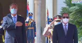 الرئيس الرومانى : ندعم الجهود المصرية لإيجاد حل لأزمات الشرق الأوسط وإفريقيا