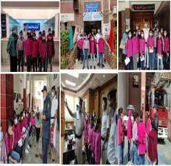 شاهد بالصور .. زيارة عدد من طلبة المدارس لبعض الجهات الشرطية بالمنوفية