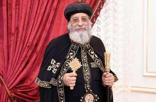 عاجل.. رسالة مؤثرة من البابا تواضروس إلي السودانيين