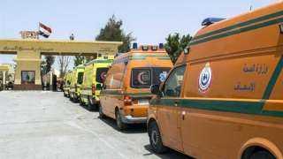 الهلال الأحمر المصرى يستعد لاستقبال جرحى فلسطينيين بمعبر رفح