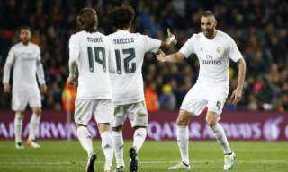 ريال مدريد يقترب من الدوري الأسباني بثنائية في ألافيس