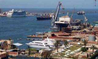 النقل تتابع إنشاء ميناء المكس الجديد بالإسكندرية