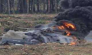تحطم مروحية عسكرية بمقاطعة لينينجراد الروسية