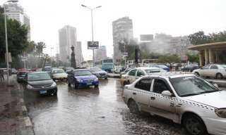ننشر خريطة الأمطار بمحافظات الجمهورية حتى السبت