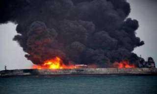 عاجل .. انفجار في ناقلة نفط قبالة السواحل السعودية