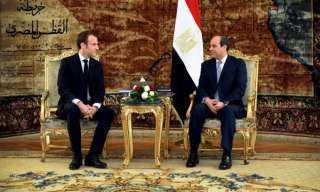 غدا: قمة مصرية - فرنسية فى قصر الإليزيه