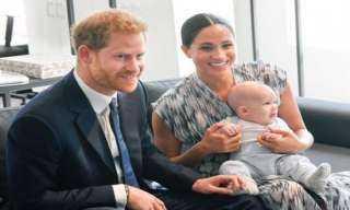 هكذا احتفل الأمير هاري وميجان بعيد ميلاد «أرتشي» الثاني